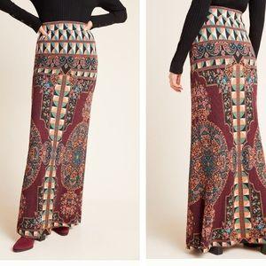 NWT Farm Rio mixes print maxi skirt